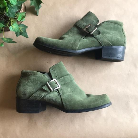 markon Shoes - 🎉Host Pick🎉Markon Green Ankle Boots